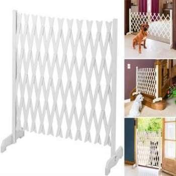 trixie barri re blanche pour chien mod le 76 cm. Black Bedroom Furniture Sets. Home Design Ideas