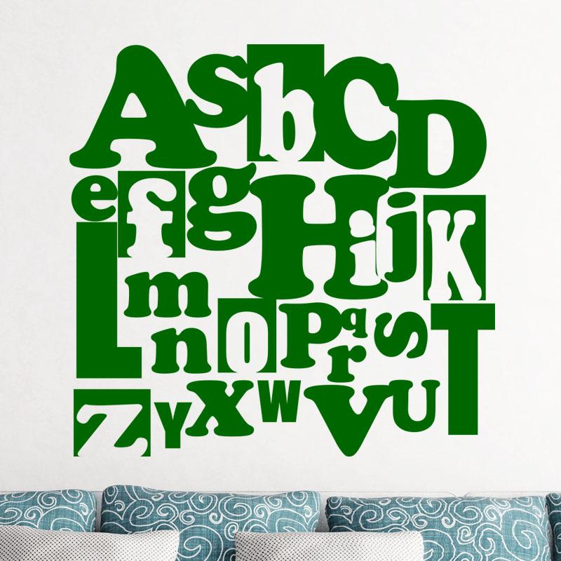 roommates stickers muraux boho alphabet. Black Bedroom Furniture Sets. Home Design Ideas