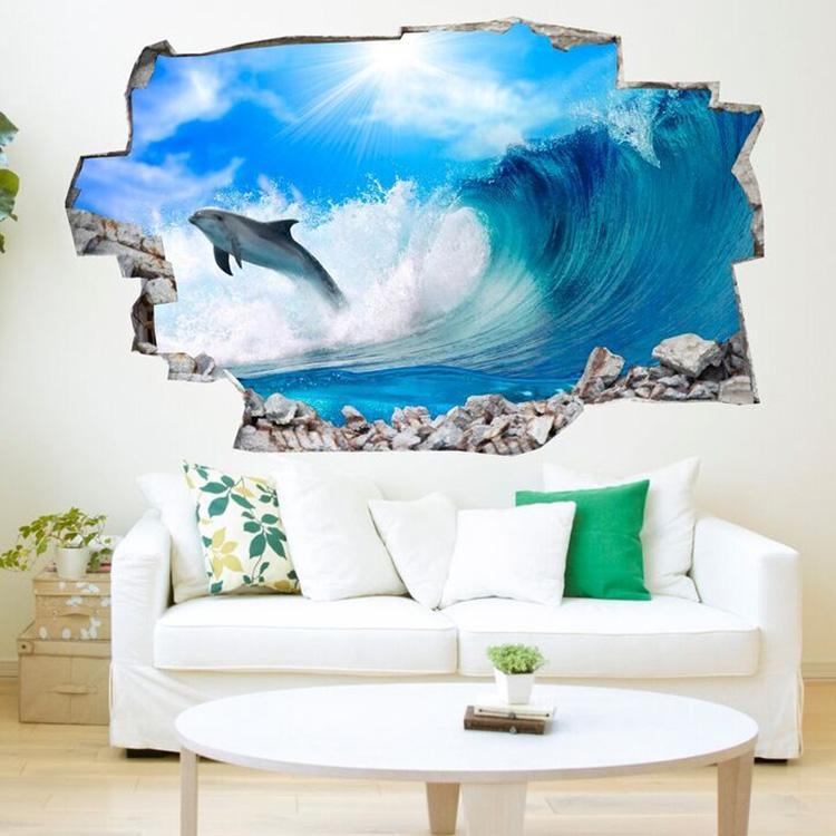 chambre dauphin] - 100 images - papier peint océan bleu papier peint ...