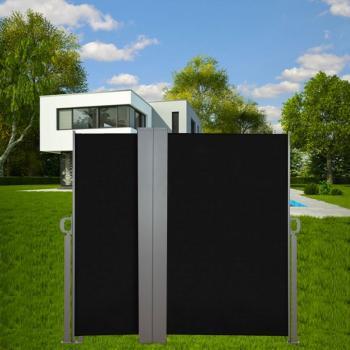 Vidaxl paravent store vertical patio terrasse 180 x 300 c for Paravent exterieur enroulable