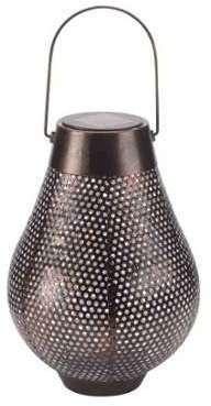 lanterne solaire fer vieilli riad boite de 2. Black Bedroom Furniture Sets. Home Design Ideas