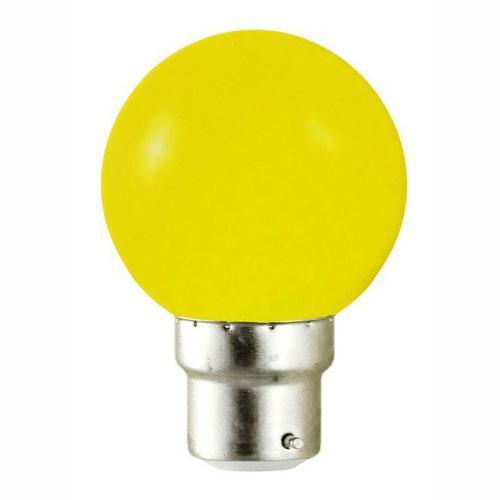vision ampoule led jaune 0dot8w b22 bulb. Black Bedroom Furniture Sets. Home Design Ideas