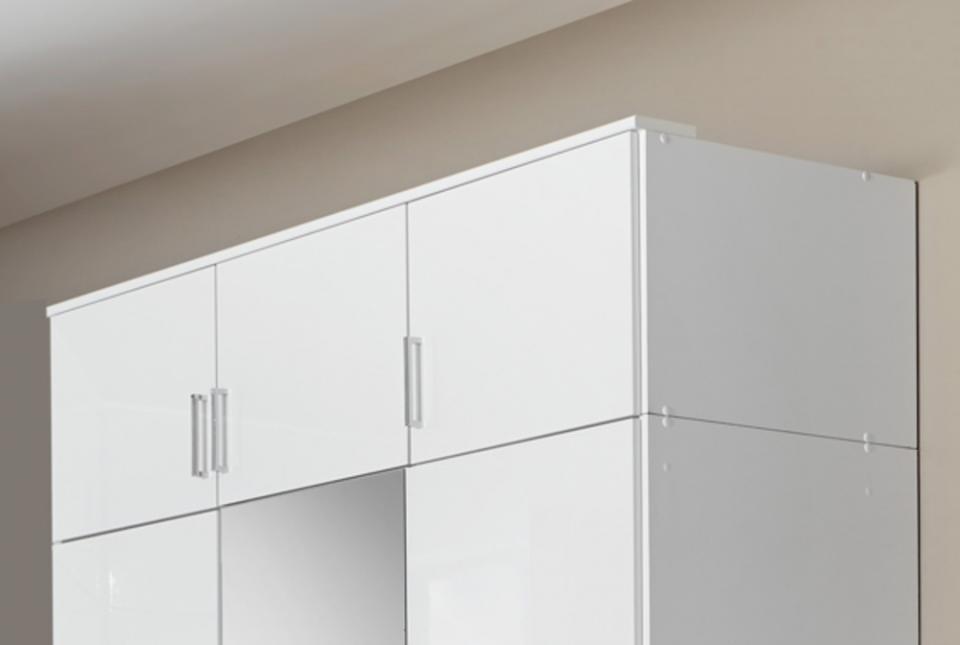 Surmeuble pour table crire blanche for Surmeuble armoire chambre