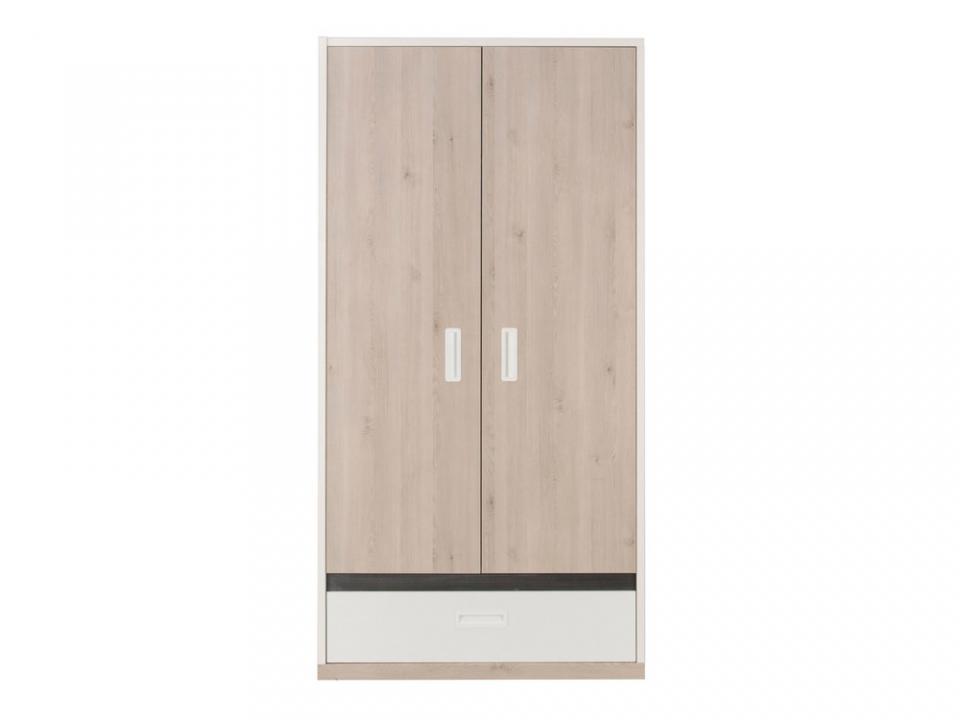 conforama lit genetouze 140 x 190 gami. Black Bedroom Furniture Sets. Home Design Ideas