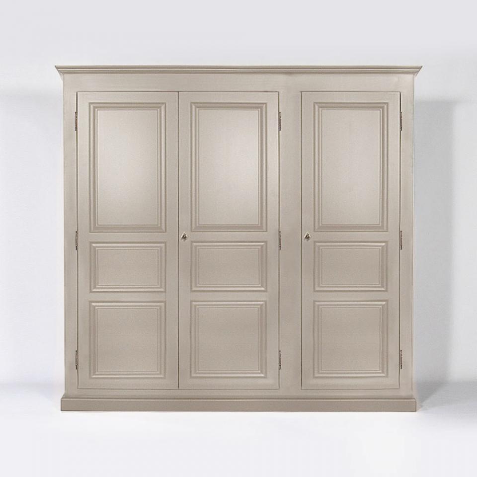 armoire penderie bois massif pin massif portes largeur cm with armoire penderie bois massif. Black Bedroom Furniture Sets. Home Design Ideas