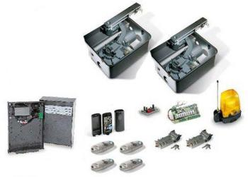 motorisation portail kit came u1804 fast40 24v 2 t l commandes. Black Bedroom Furniture Sets. Home Design Ideas