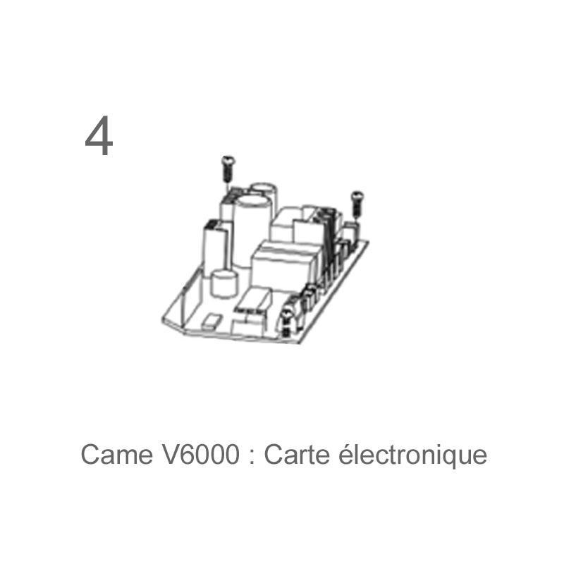 kit complet v6000 motorisation porte de garage came 001u4610 came. Black Bedroom Furniture Sets. Home Design Ideas