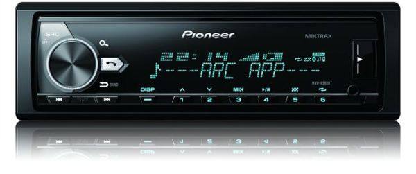 autoradio mp3 pioneer mvh x580bt. Black Bedroom Furniture Sets. Home Design Ideas