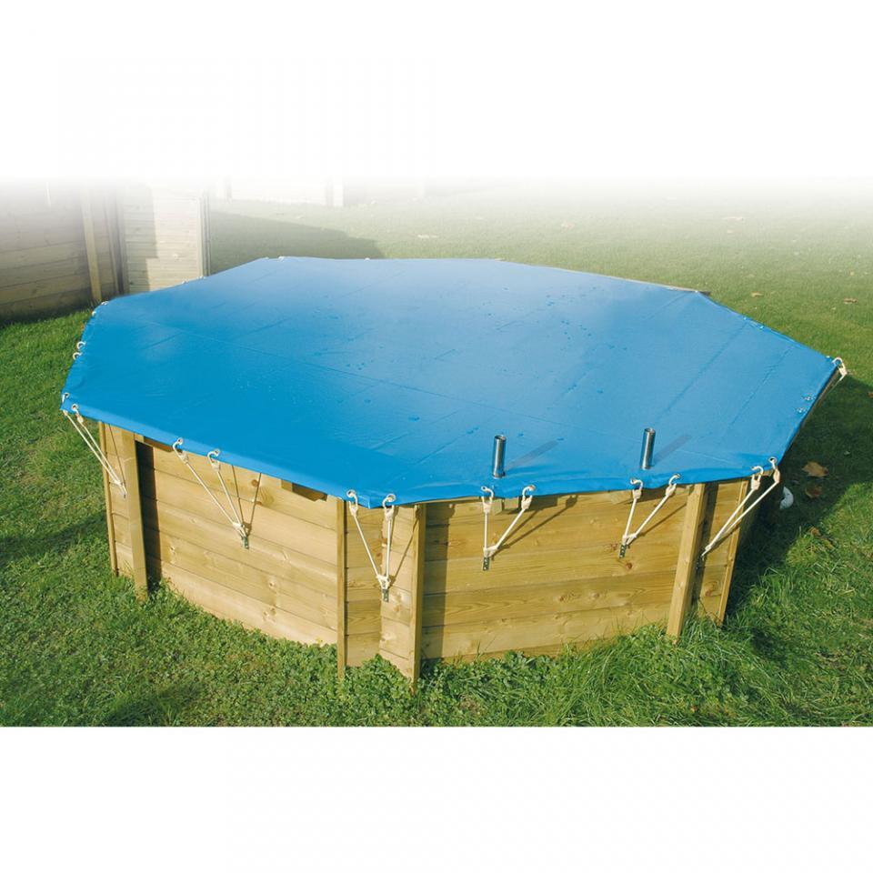 Ubbink b che hiver pour piscine 200 x 350 m for Enrouleur piscine octogonale