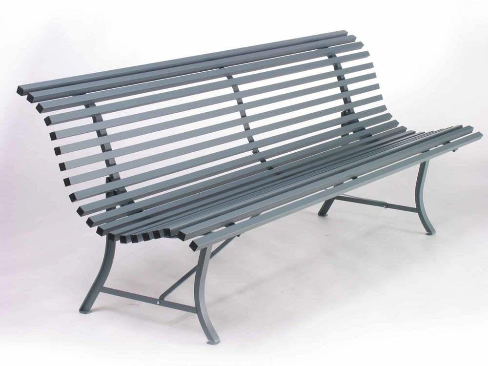 Conforama ensemble table 2 bancs bastien blanc plateau - Banc de jardin places ...