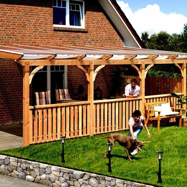 Catgorie barnums pergola et tonnelle page 1 du guide et for Structure toit terrasse