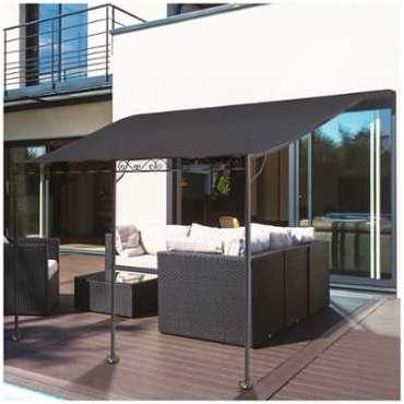 Auvent En Toile Pour Terrasse. Beautiful Comment Installer Une Voile