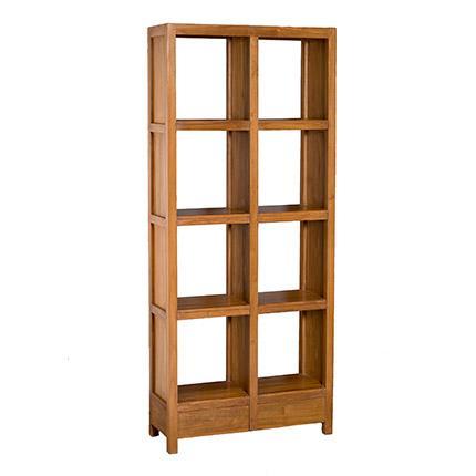 structure mobile 14 cases grise. Black Bedroom Furniture Sets. Home Design Ideas