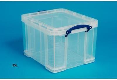 really boite de rangement usel box 84 litres. Black Bedroom Furniture Sets. Home Design Ideas