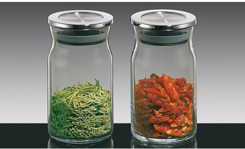 le bocaux en verre avec couverc 3l lot de 3. Black Bedroom Furniture Sets. Home Design Ideas