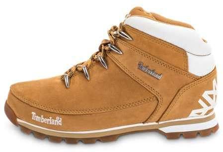 Chaussures Homme Timberland Montantes Euro Sprint Camel Noir A1NHJ