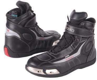 Modeka Terrel Bottes de moto Noir 43  Baskets pour homme  Size : 8 UK) Chaussures Spieth & Wensky marron Casual homme omrqUIeKWP