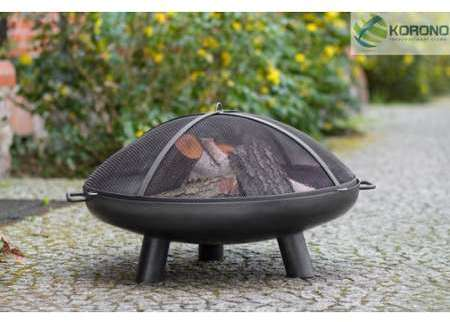 Korono Brasero Cadiz Poele 3 Compartiments Jardin Foyers Et