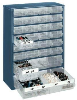 Raaco casier de rangement 1248 01 48 tiroirs 137393 - Armoire hauteur 190 cm ...