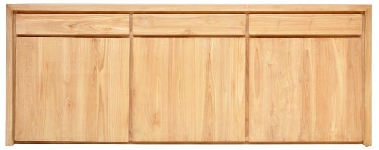 swithome enfilade 2 2 portes 3 tiroirs swift ch ne bross. Black Bedroom Furniture Sets. Home Design Ideas