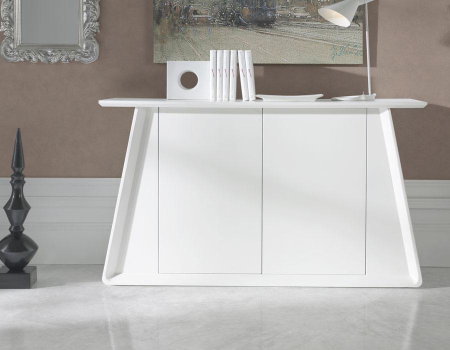 buffet carero blanc. Black Bedroom Furniture Sets. Home Design Ideas