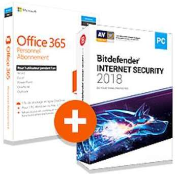 Bitdefender 2017 internet security 1 an 5 pc - Pack office gratuit etudiant ...