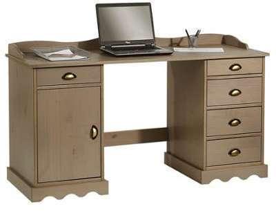 Bureau enfant pin massif nice bureau design table de bureau drawer