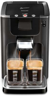 machine caf dosette noir intense senseo quadrante philips. Black Bedroom Furniture Sets. Home Design Ideas