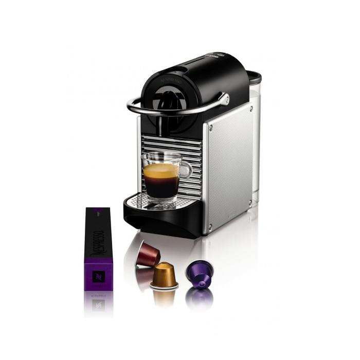 expresso magimix pixie nespresso aluminium electrique 11322. Black Bedroom Furniture Sets. Home Design Ideas