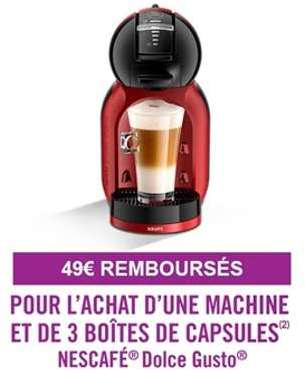cafeti re nescafe dolce gusto mini me noir et rouge yy2749fd krups. Black Bedroom Furniture Sets. Home Design Ideas