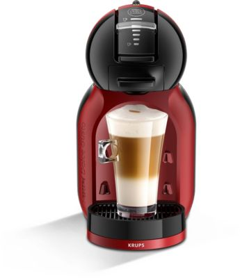 cafeti re nescafe dolce gusto mini me noir et rouge yy2749fd krups. Black Bedroom Furniture Sets. Home Design Ideas