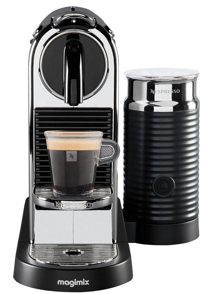 Nespresso MAGIMIX - Nespresso Citiz & Milk Chrome (11318)