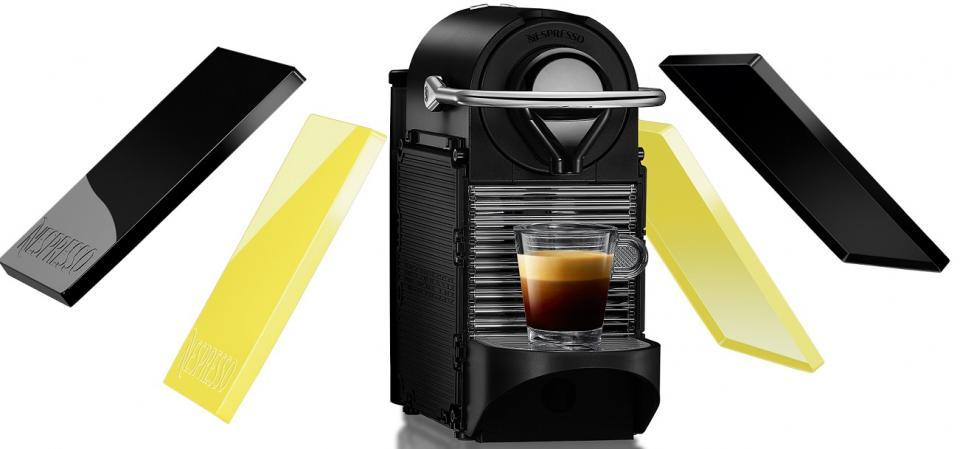 nespresso krups pixie clip jaune yy1206fd. Black Bedroom Furniture Sets. Home Design Ideas