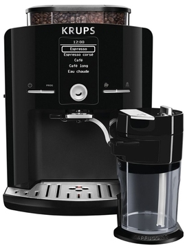 krups machine espresso broyeur yy8126fd noir. Black Bedroom Furniture Sets. Home Design Ideas