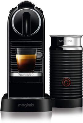 nespresso m195 citiz milk 1 l noir 11317 magimix. Black Bedroom Furniture Sets. Home Design Ideas