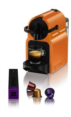 nespresso magimix nespresso inissia m105 orange 11352. Black Bedroom Furniture Sets. Home Design Ideas