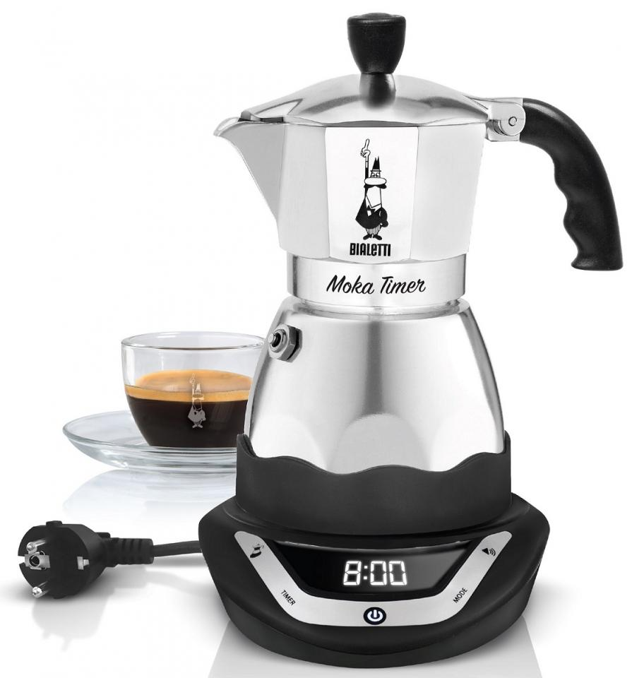 cafeti re italienne programmable easy timer 6 tasses bialetti. Black Bedroom Furniture Sets. Home Design Ideas