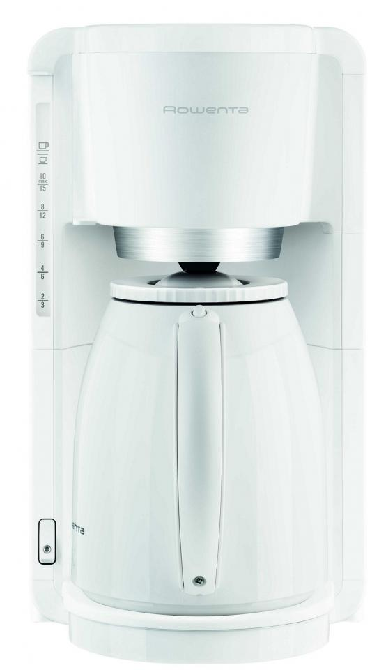 Cafetire adagio isotherme blanc 8 12 tasses rowenta - Cafetiere filtre programmable isotherme ...