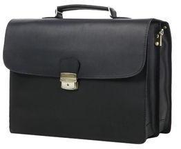 Serviette en cuir Arthur & Aston Intemporel 44 cm Noir d8YC5Ragk