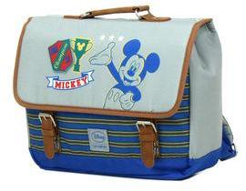 Trousse scolaire Disney Mickey College by Samsonite bleu