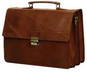 Serviette Burkely Vintage Dean 41 cm Brown marron 2yxRm7OC