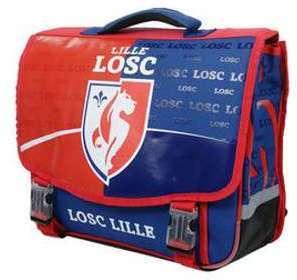 Cartable LOSC Lille 41 cm CE2/Collège Bleu 9b5IEL5M44