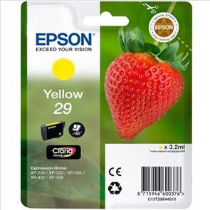 epson 29 cartouche dencre jaune pour expression home xp 235 xp 332 xp 335 xp 432 xp 435. Black Bedroom Furniture Sets. Home Design Ideas