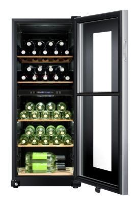 cave vin de vieillissement haier ws46gdbe. Black Bedroom Furniture Sets. Home Design Ideas