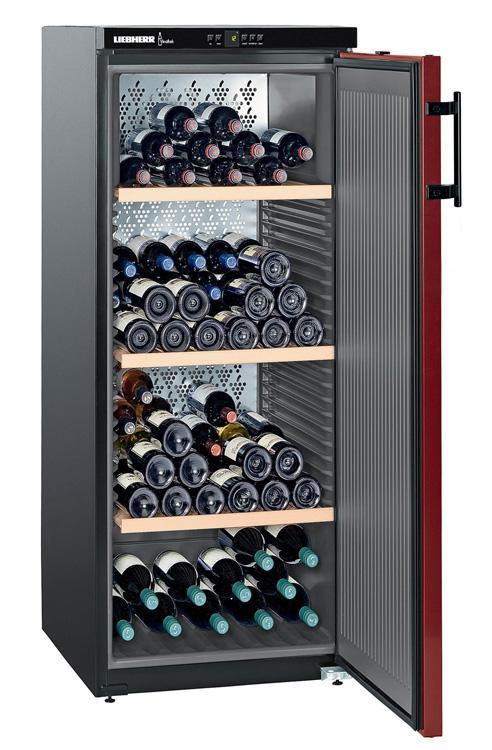 cave a vin liebherr wk 161 cave de vieillissement. Black Bedroom Furniture Sets. Home Design Ideas