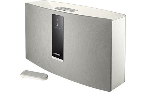 bose soundtouch 30 iii blanc syst me audio wi fi et bluetooth enceinte. Black Bedroom Furniture Sets. Home Design Ideas
