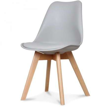 Chaise Style Scandinave Gris