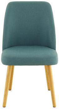 zago 2x fauteuil tissu vert pitement chne manie en soldes. Black Bedroom Furniture Sets. Home Design Ideas