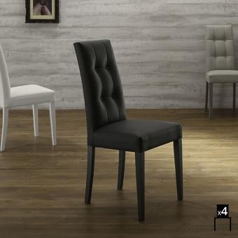 Catgorie chaises de salle manger page 4 du guide et for Chaises salle manger cuir dossier haut