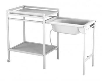 Cat gorie chaises hautes du guide et comparateur d 39 achat - Table a langer avec baignoire coulissante ...